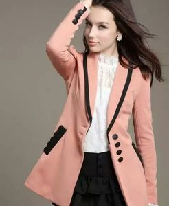 Jackets & Blazers - Long pink blazer